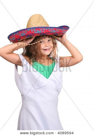 Child Playing Dressup
