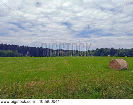 Summer Day Scenery In The Czech Republic Countryside