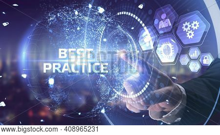 Business, Technology, Internet And Network Concept. Best Practice Successful Business Concept.