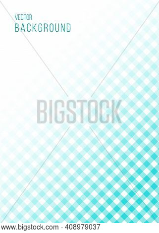 Vector Abstract Background With Space For Text Or Image. The Vichy Cage.