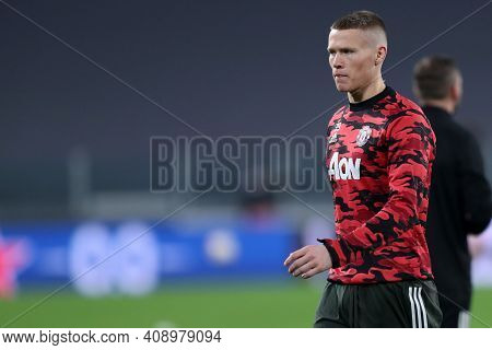 Torino, Italy. 18th February 2021. Scott Mctominay Of Manchester United Fc  During  Uefa Europa Leag