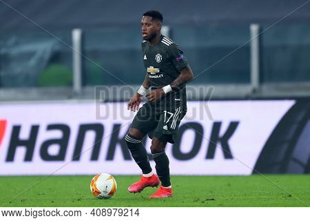 Torino, Italy. 18th February 2021. Fred  Of Manchester United Fc  During  Uefa Europa League  Match