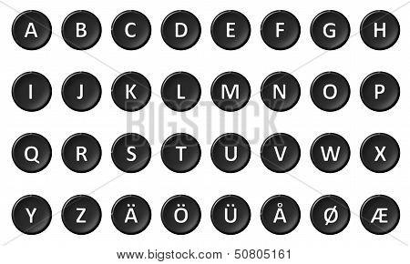 Alphabet - Signed And Sealed Black