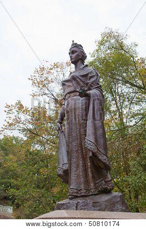 Monument Of Duchess Olga In Korosten, Ukraine