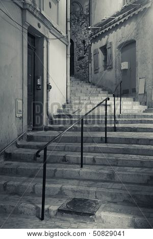 Stairs to an unknown destination
