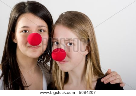Clowns In Friendship