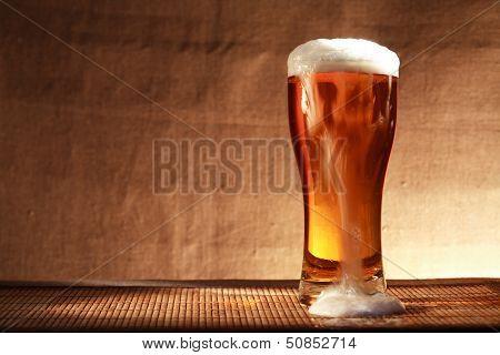 Beer With Foam