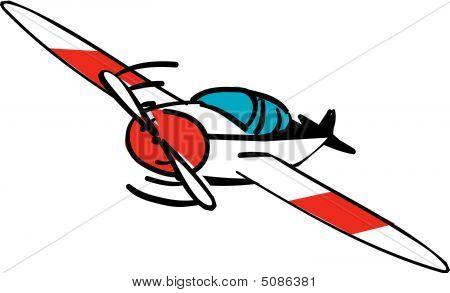Single Propeller Plane