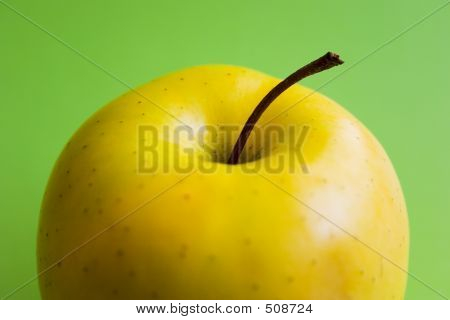 Half Yellow Apple