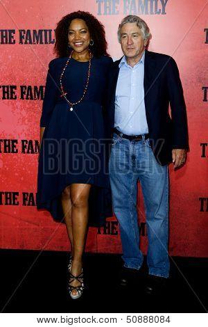 NEW YORK-SEP 10: Grace Hightower and Robert DeNiro attend