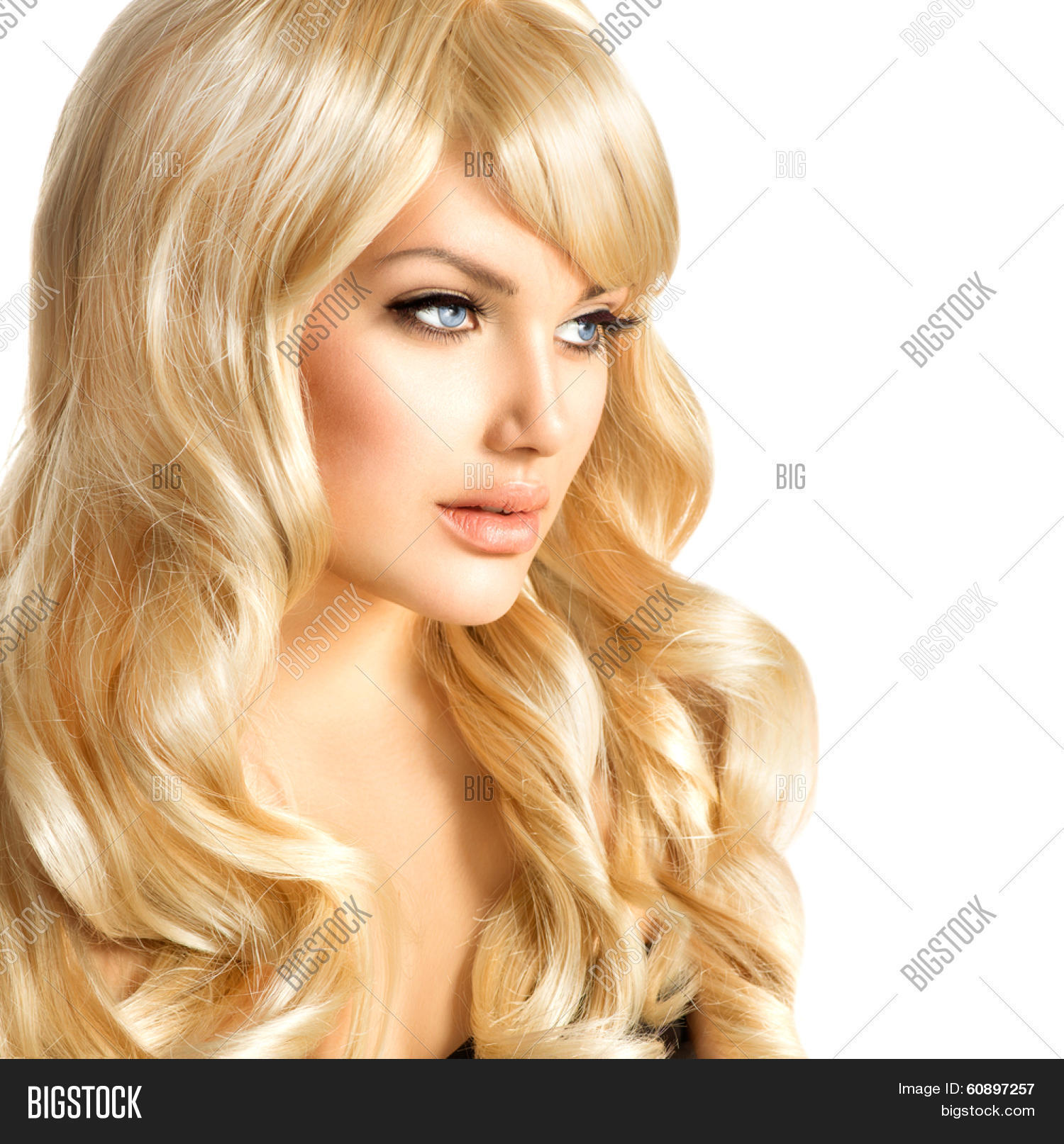 Beauty Blonde Woman Image  Photo Free Trial  Bigstock-7676
