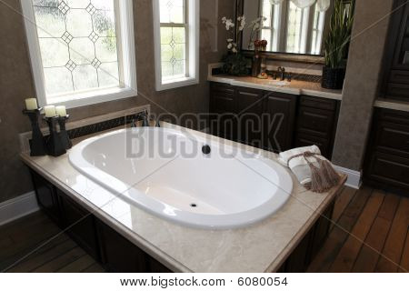 Luxury home bathroom
