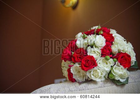 Wedding Bouquet Of Bride