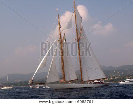 Classic Sailing Yacht Eleonora