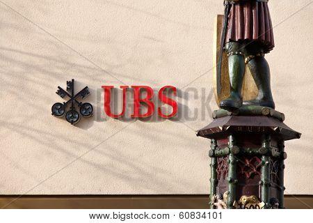 Swiss Bank UBS building
