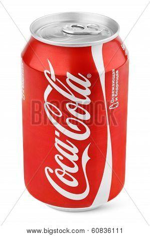 Aluminum Red Can Of Coca-cola