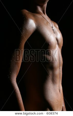 Nude Male Body G1 poster