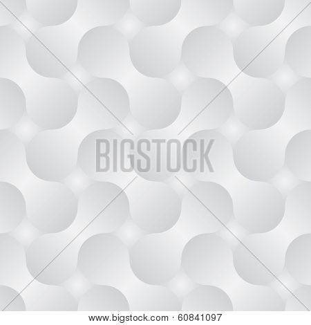 Simple Geometric Vector Pattern - Abstract Shapes With Gray Gradients