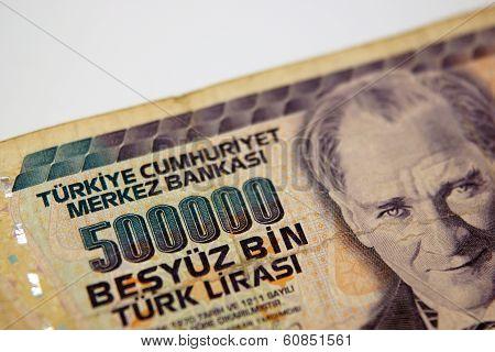 A Five Million Turkish Lira Bill From Turkey