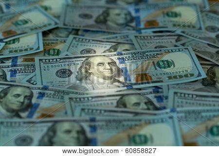 New Design 100 Dollar Us Bills Or Notes