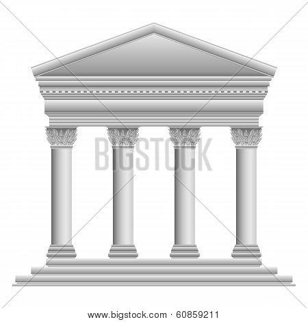 Corinthian Greek Temple
