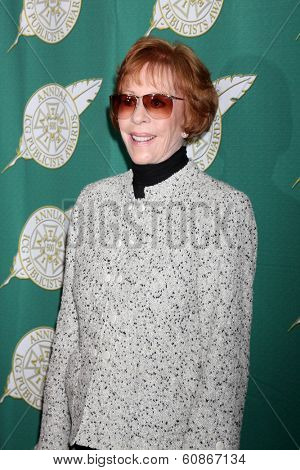 LOS ANGELES - FEB 28:  Carol Burnett at the 2014 Publicist Luncheon at Beverly Wilshire Hotel on February 28, 2014 in Beverly Hills, CA