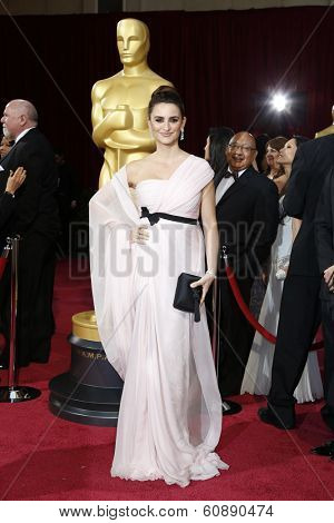 LOS ANGELES - MAR 2:  Penelope Cruz at the 86th Academy Awards at Dolby Theater, Hollywood & Highland on March 2, 2014 in Los Angeles, CA