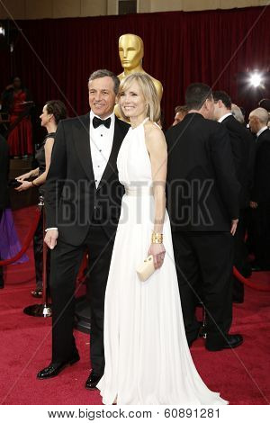 LOS ANGELES - MAR 2:  Bob Iger, Willow Bay at the 86th Academy Awards at Dolby Theater, Hollywood & Highland on March 2, 2014 in Los Angeles, CA