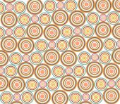 a beautiful drawing of circle pattern background poster