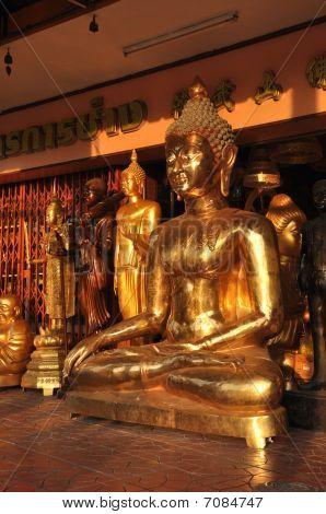 Buddha Various Group Brass