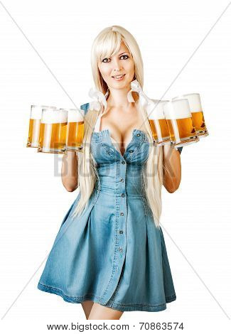 Young Sexy Oktoberfest Woman