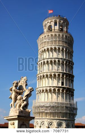 The Leaning Tower - La Torre Pendente Di Pisa