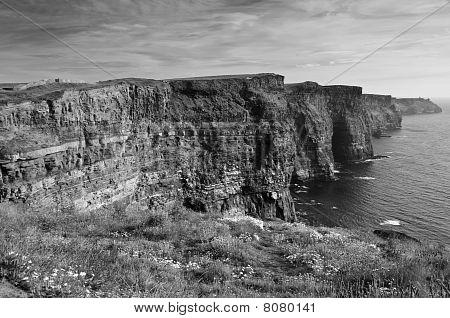 Famous Cliffs Of Mohair West Coast Ireland