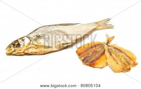 Stockfish And Two Slices Of Fish