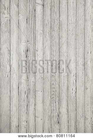 Grey wooden planking background.