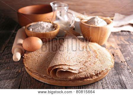 buckwheat crepe poster