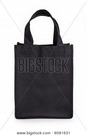 Negro bolsa reutilizable
