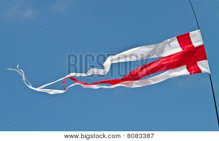 English Flag Pennant