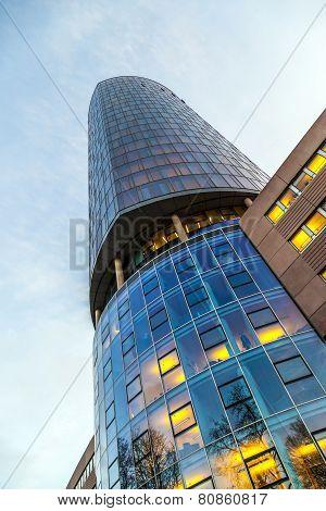 View To Skyscraper Cologne Triangle In Cologne