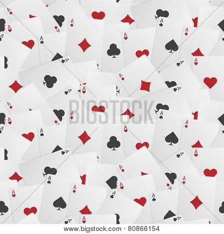 Seamless Playing Card Background
