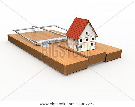 Mousetrap and house.