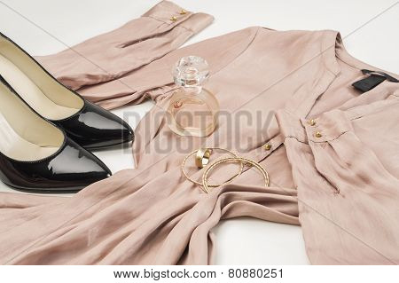Elegant Ladies Fashion Ensemble