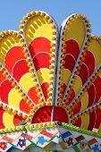 colors of oktoberfest carusel poster