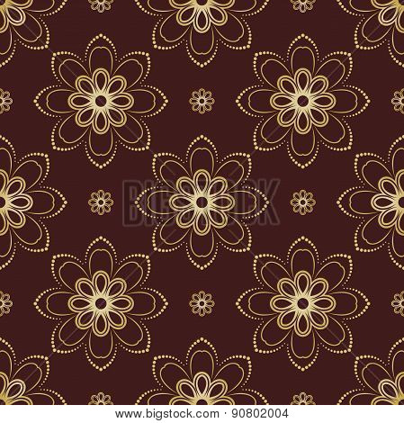 Floral Seamless Vector Pattern