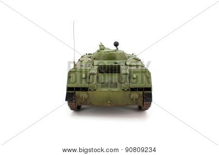 Russian airborne combat vehicle rear view strictly poster