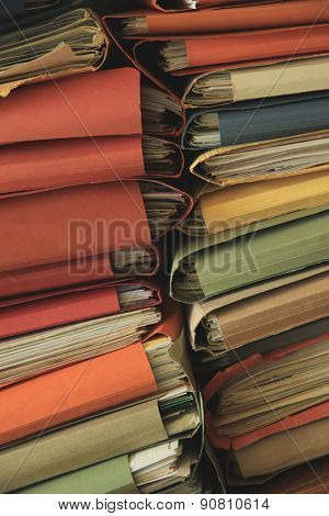 Stacked Office Files