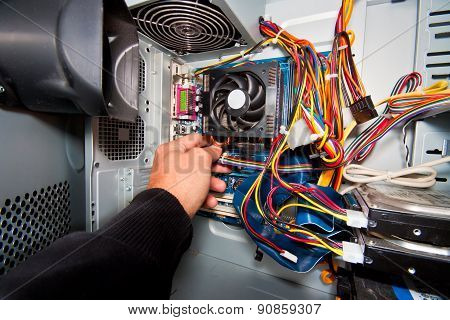 PC service and repair.
