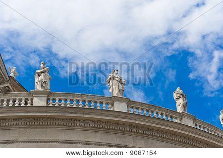The Balcony Of St. Stephen Basilica