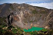 The Irazu Volcano is an active volcano in Costa Rica situated in the Cordillera Central close to the city of Cartago. poster