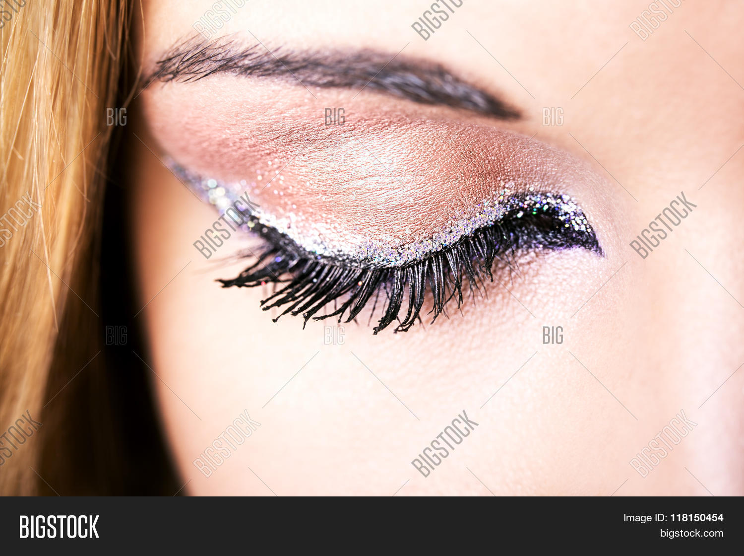 Eye Makeup Beautiful Image Photo Free Trial Bigstock
